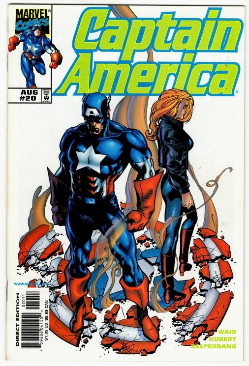 CAPTAIN AMERICA #20 (9.2) No Resv! 1¢ Auction! See More!!!