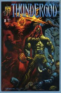 THUNDERGOD #2, VF/NM, Eric Powell, Crusade Comics 1996  more Indies in store