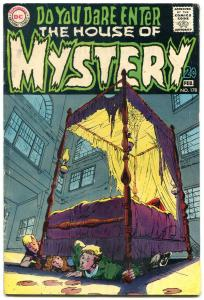 HOUSE OF MYSTERY #178 1969-NEAL ADAMS-DC HORROR VG+