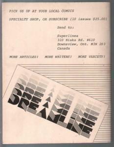 Dreamline 3/1982-Red Sonja-Tony Frutti-Murray Ward-Joel Staton-FN