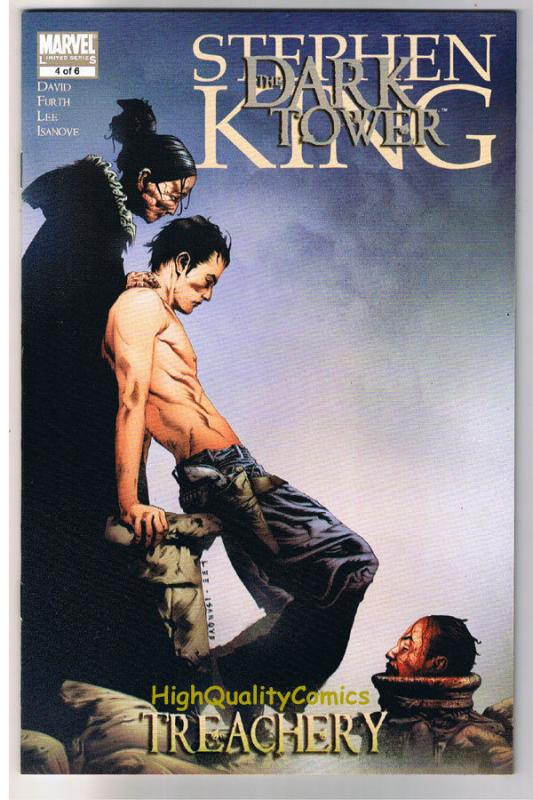 Stephen King DARK TOWER TREACHERY 4, NM+, Gunslinger, 2008, more SK in store