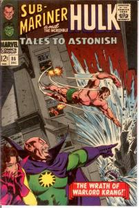 TALES TO ASTONISH 86 VG+ Dec. 1966 COMICS BOOK