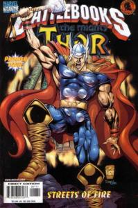 Thor Battlebook: Streets of Fire #1, NM- (Stock photo)