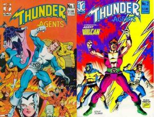 THUNDER AGENTS (1983 JC) 1-2  Complete!