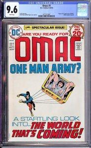 OMAC #1 (DC, 1974) CGC 9.6