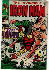Iron Man #6, 5.0 or Better