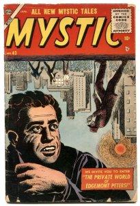 Mystic #43 1956- Atlas horror weird comic G/VG