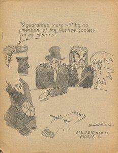All-STARbegotten #13 1963-rare comics fanzine-VG