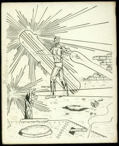 Zephyr #5 1973- British Fanzine- UK Fandom comics FN-
