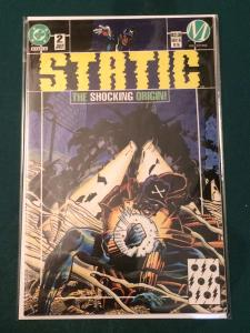 Static #2 The Shocking Origin