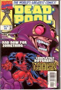 DEADPOOL (1997) 9 VF-NM Oct. 1997 COMICS BOOK