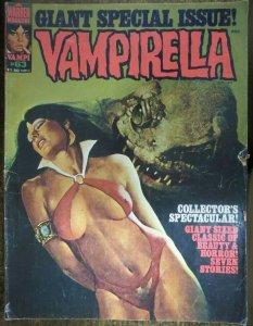 VAMPIRELLA #63 (Warren, 9/1977) VERY GOOD MINUS (VG-) Bernie Wrightson!