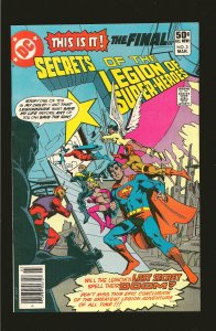 DC Comics Secrets of The Legion of Superheroes Vol 1 No 3 March 1981