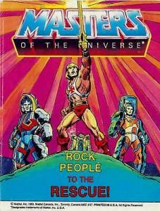 Masters of the Universe: Rock People to the Rescue #1 VG; Mattel Mini-Comic | lo