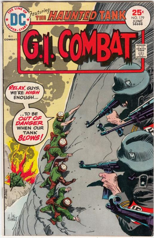 G.I. Combat #179 (Jun-75) FN/VF- Mid-High-Grade The Haunted Tank
