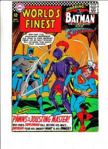 World's Finest #162 (Nov-66) VG/FN Mid-Grade Superman, Batman, Robin
