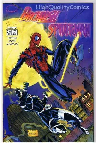 BACKLASH / SPIDER-MAN #2, NM+, Venom, Movie, 1996, more Spidey's in our store