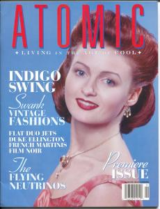 Atomic-The Magazine of Retro Culture-Spring 1999-1st issue-culture-music-VF