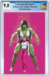 Immortal She Hulk #1 CGC 9.8 Marvel 2020 Inhyuk Lee Virgin Var PRE-ORDER 9/30/20