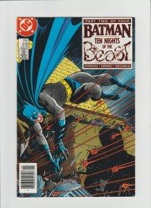 Batman #418 (1988, DC Comics) Unread Copy High Grade Scarce Newsstand Variant