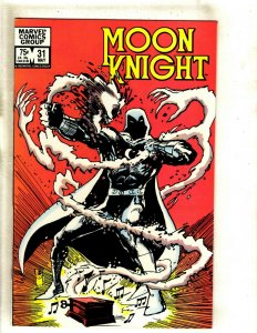 Lot Of 8 Moon Knight Marvel Comic Books # 31 32 33 34 35 36 37 38 HJ9