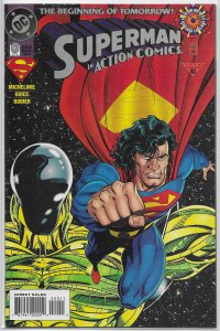 Action Comics   vol. 1   #  0 VF (Zero Hour)