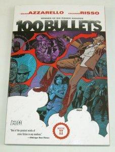 100 Bullets TPB #2 VF/NM book II - azzarello/risso - DC/Vertigo - collects 20-36