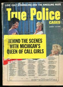 TRUE POLICE CASES-01/1958-TERROR'S TARGET-CRIMELIGHT PERSONALITIES FR/G