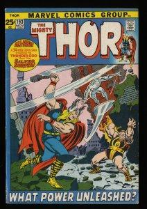 Thor #193 FN- 5.5 Marvel Comics