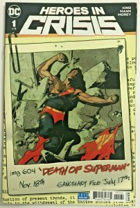 HEROES IN CRISIS#1 NM 2019 DC COMICS