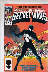 Marvel Super Heroes Secret Wars #8 (Dec-84) NM- High-Grade Marvel Heroes, Spi...