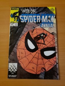 Web of Spider-Man Annual #2 Direct Market ~ NEAR MINT NM ~ (1986 Marvel)