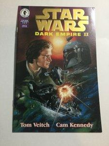 Star Wars Dark Empire II 4 Limited Edition Gold Nm- Near Mint- Dark Horse Comics