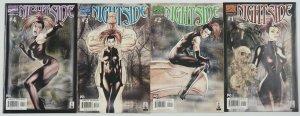 Nightside #1-4 VF/NM complete series - marvel comics bad girl - tom derenick 2 3