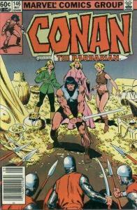 Conan the Barbarian (1970 series) #146, VF+ (Stock photo)