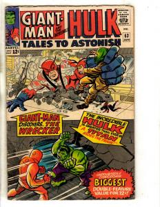 Tales To Astonish # 63 FN Marvel Comic Book Sub-Mariner Incredible Hulk FH2