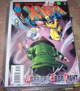 UNCANNY X-MEN #329    DR STRANGE  WOLVERINE ARCHANGEL
