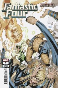 Fantastic Four #9 Dodson Asgardian Variant (Marvel, 2019) NM