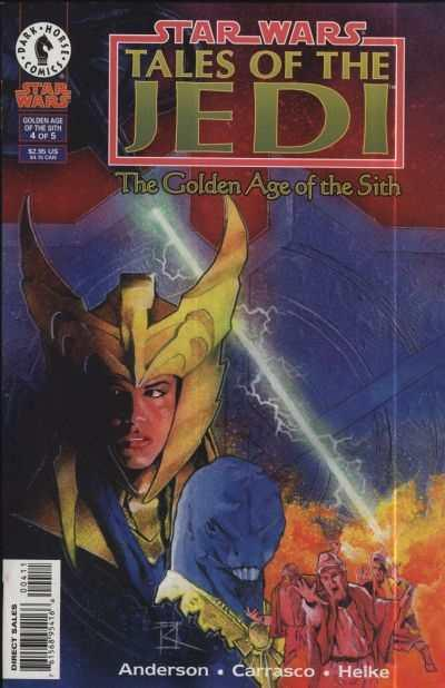 Star Wars: Tales of the Jedi-The Golden Age of the Sith #4, VF+ (Stock photo)