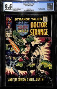 Strange Tales #163 (Marvel, 1967) CGC 8.5