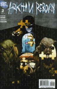 Arkham Reborn #2 VF/NM; DC | save on shipping - details inside