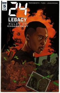 24 Legacy Rules of Engagement #5 Cvr A (IDW, 2017) VF/NM
