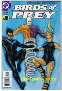 BIRDS of PREY #54, NM+, Canary, Gilbert Hernandez,1999, more in store