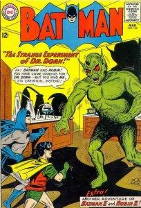 Batman #154 stock photo