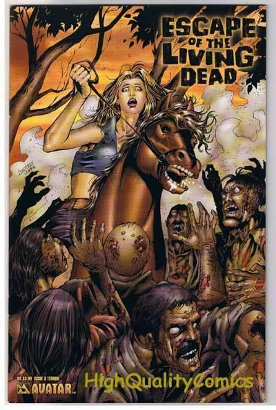 ESCAPE of the LIVING DEAD #3, NM, Terror, Zombies, 2005, more Horror in store