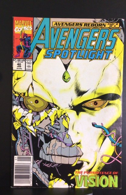 Avengers Spotlight #40 (1991)