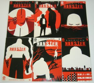 American Monster #1-6 VF/NM complete series - brian azzarello - juan doe set lot