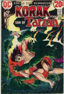 Korak, Son of Tarzan #51 (1973) Gold Key Joe Kubert VG