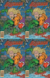 Aquaman #2 Newsstand Covers (1994-2001) DC Comics - 4 Comics
