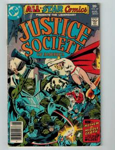 All Star Comics # 67 VG DC Comic Book Feat. Justice Society Of America Flash S77